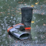 Flood rubber boots